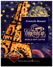 46713	COFFEE DRIP FRENCH ROAST	ONE FRESH CUP 12/4/11G