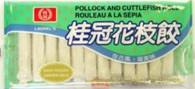 91083CUTTLE FISH ROLLLAUREL 25/10 PCS