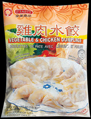 91183	(44505)DUMPLING CHICKEN & VEGE	O'TASTY YEL 12/30 PC