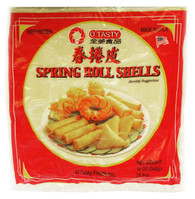 91246	SPRING ROLL SHELLS	(22101) O'TASTY 40/25 PC