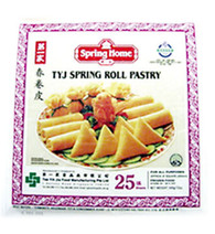 """91272""""SPRING ROLL WRAPPER 7.5""""""""""""SPRING HOME 20/50 PC"""