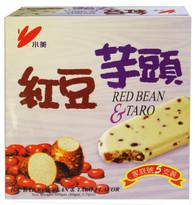 91645ICE BAR RED BEAN TARO FLV.CHIAO MEI 6/5 PCS