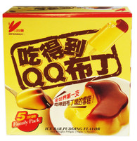 91648	ICE BAR PUDDING FLV.	CHIAO MEI 6/5 PCS