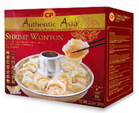 91351 RAW SHRIPM WONTON CP 10/50PC