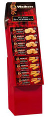 43313 WALKERS SHORTBREAD 60 COUNT SHIPPER DISPLAY