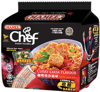 42811 CURRY LAKSA FLAVOUR MAMEE CHEF 8/4/80G
