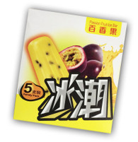 91881 PASSION FRUIT ICE BAR BING CHAO 6 / 5 PCS
