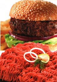 Wagyu Beef Kobe Style Hamburger Patties - Three 5.3 oz Patties