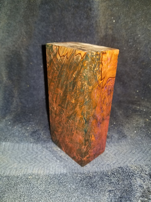 Stabilized Spalted Maple Blank STA1C61