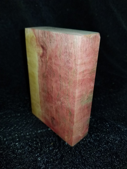 Stabilized Quilted Box Elder Blank