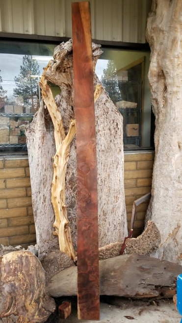Historical Old Growth Curly Redwood Lumber RED14c03
