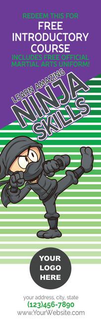 *NEW* Ninja Skills Intro Course Bookmark