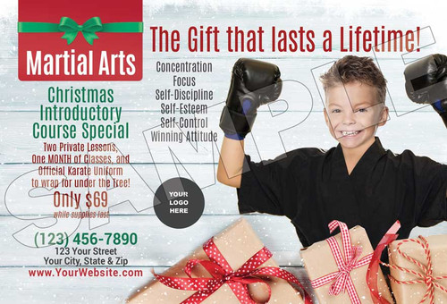 **NEW* Martial Arts Lasts a Lifetime for the Holidays