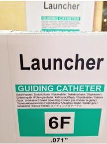 LA6EBU35 Medtronic Launcher Coronary Guide Catheter