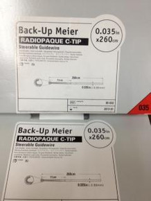 30-602 Back-Up Meier  Guide Wires