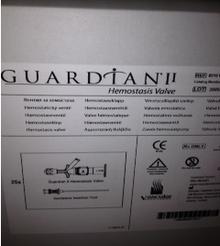 8210 Guardian II Hemostasis Valve