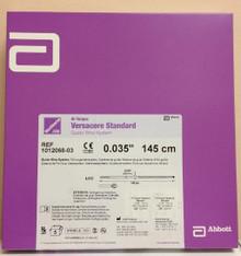 "Abbott 1012068-03 Versacore Standard Hi-Torque Guide Wire System 0.035""  145cm"
