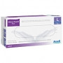 Ansell 5006 Micro-Touch Plus Powder-free Latex Exam Gloves, Large. Case of 200 pairs