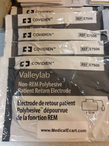 Valleylab, E7506, Adult, Non-REM, PolyHesive, Patient, Return, Electrode, Covidien, COVE7506, E7506A, 1944455, 209556