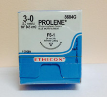 Ethicon, 8684G, PROLENE, Suture