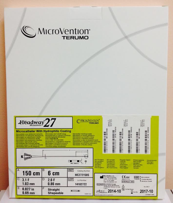 X Coating Terumo Microvention Terumo MC2722150S