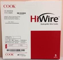 "Cook HW-035150 Hiwire Nitinol Core Wire Guide .035"" x 150cm G30476"