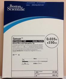 Boston Scientific 670-308 Sensor Straight Tip Dual Flex Nitinol Wire with Hydrophilic Tip
