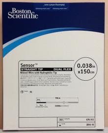 Boston Scientific 670-312 Sensor Straight  Tip Dual Flex Nitinol Wire with Hydrophilic Tip