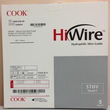 "Cook HWS-035150 Hiwire Nitinol Core Wire Guide .035"" X 150cm G30474"