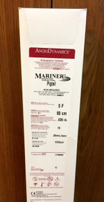 """Angiodynamics 11708502 Mariner™ Hydrophilic-coated Angiographic Catheter Soft Radiopaque Tip, Pigtail 5F / 90 cm / .035"""""""