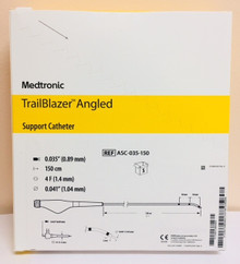ASC-035-150 TrailBlazer ™ Angled Support Catheter  0.035 Guidewire Compatibility, 150cm Working Length 5Fr Minimum Guide, 4Fr Minimum Introducer, 50mm Marker Bands Pack of 5