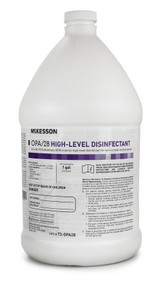 73-OPA28 McKesson OPA / 28 OPA High Level Disinfectant RTU Liquid 1 gal. Jug Max 28 Day Reuse. Box of 4