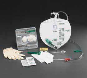 Bard 907316 Indwelling Catheter Tray Lubri-Sil Foley 16 Fr. 5 cc Balloon Hydrogel Coated Silicone CATH TRAY, FOLEY LTX FREE 16Fr