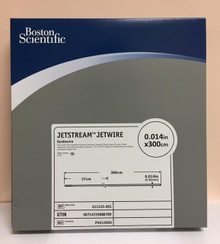 "PV014300 011525-001 Boston Scientific JetStream Jetwire Guidewire 0.014"" x 300cm. Box of 5"