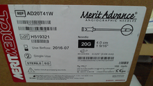AD20T41W Merit Angiographic needle