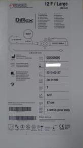 Bard DS1205050 DiRex Steerable Sheath