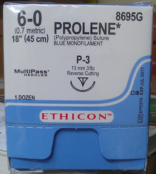 Ethicon, 8695G, PROLENE, Suture