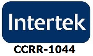 Intertek CCRR-1044 Certified