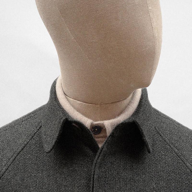 Overshirt, Lead Grey