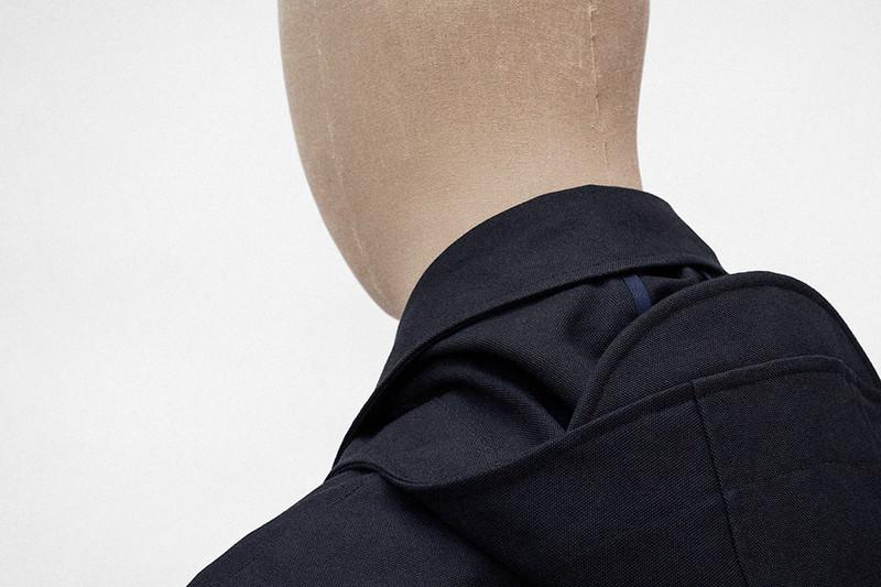 Hood Jacket, Dark Navy