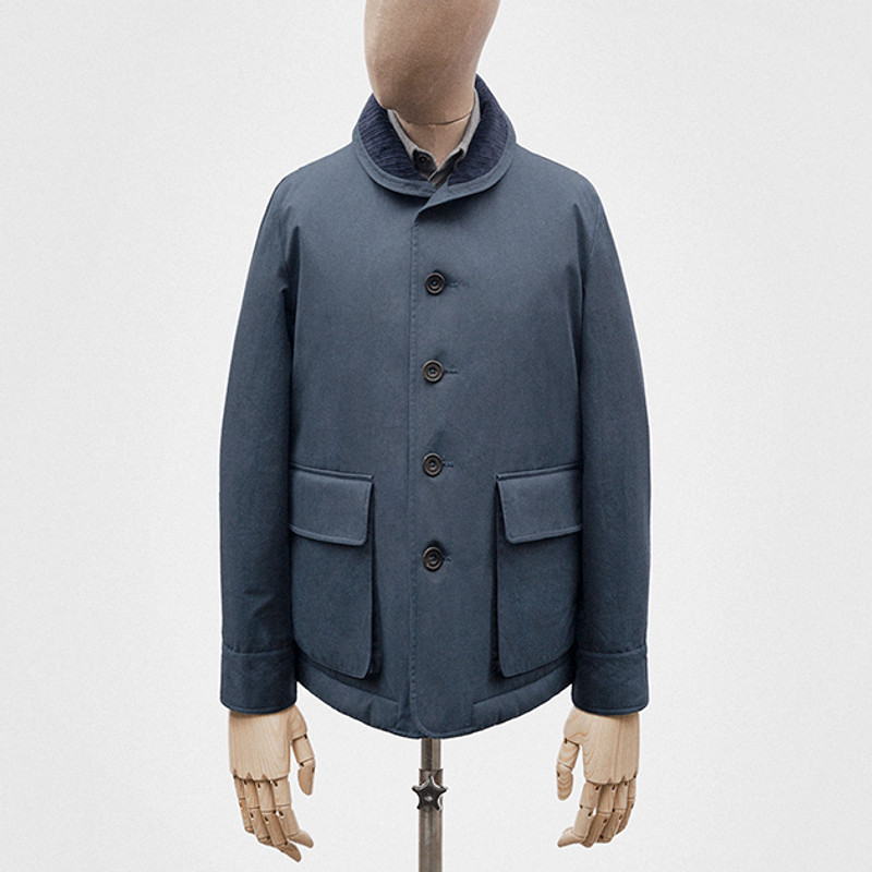 Tour Jacket, Marine Blue