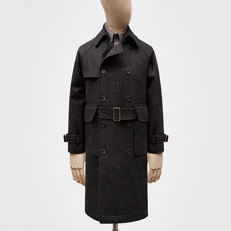 Trench Coat, Coal Grey