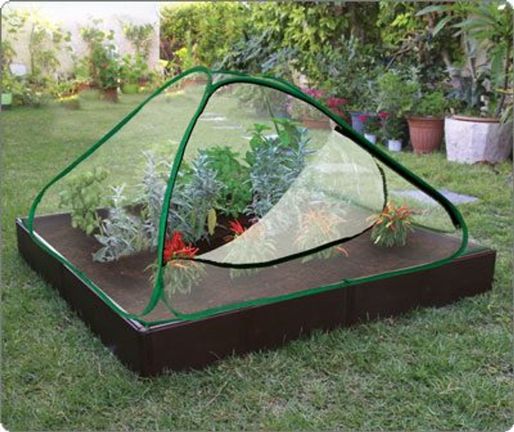 Light and Easy to Build Raised Garden Bed with Cover – Echo Friendly and Movable, Protect your  Crop and Create your own Micro-Climate for your Plants!