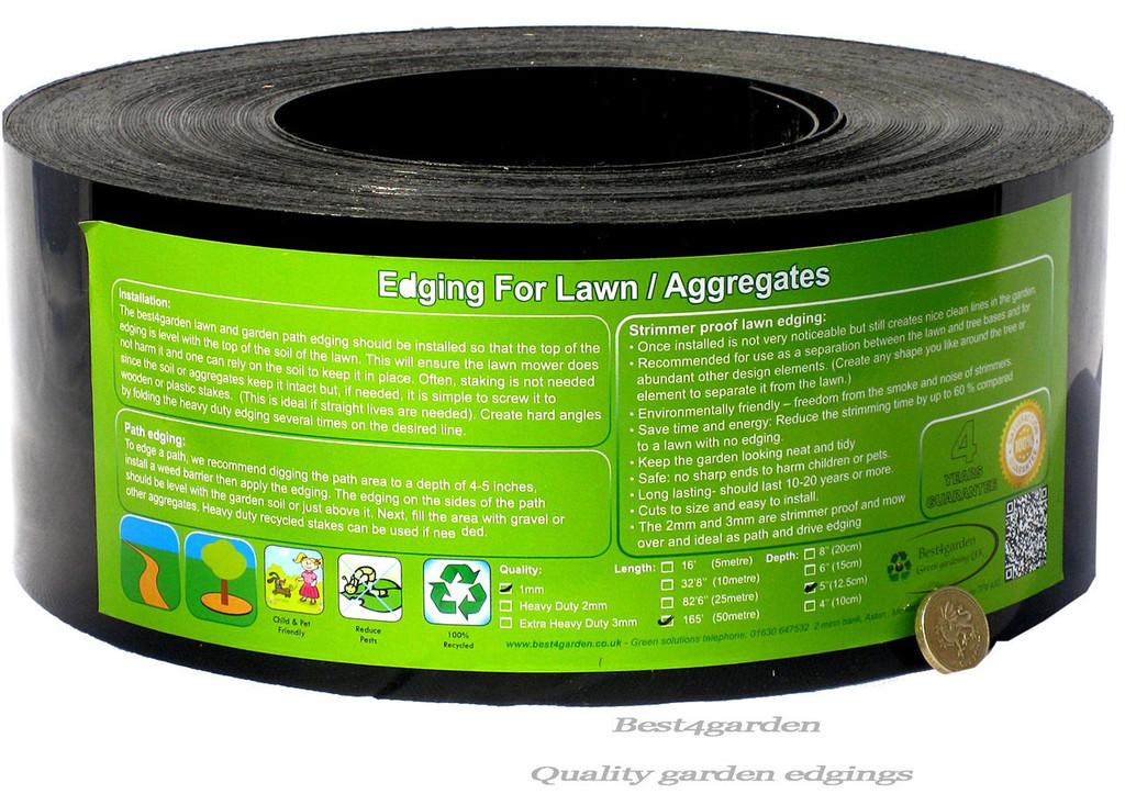 lawn edging roll