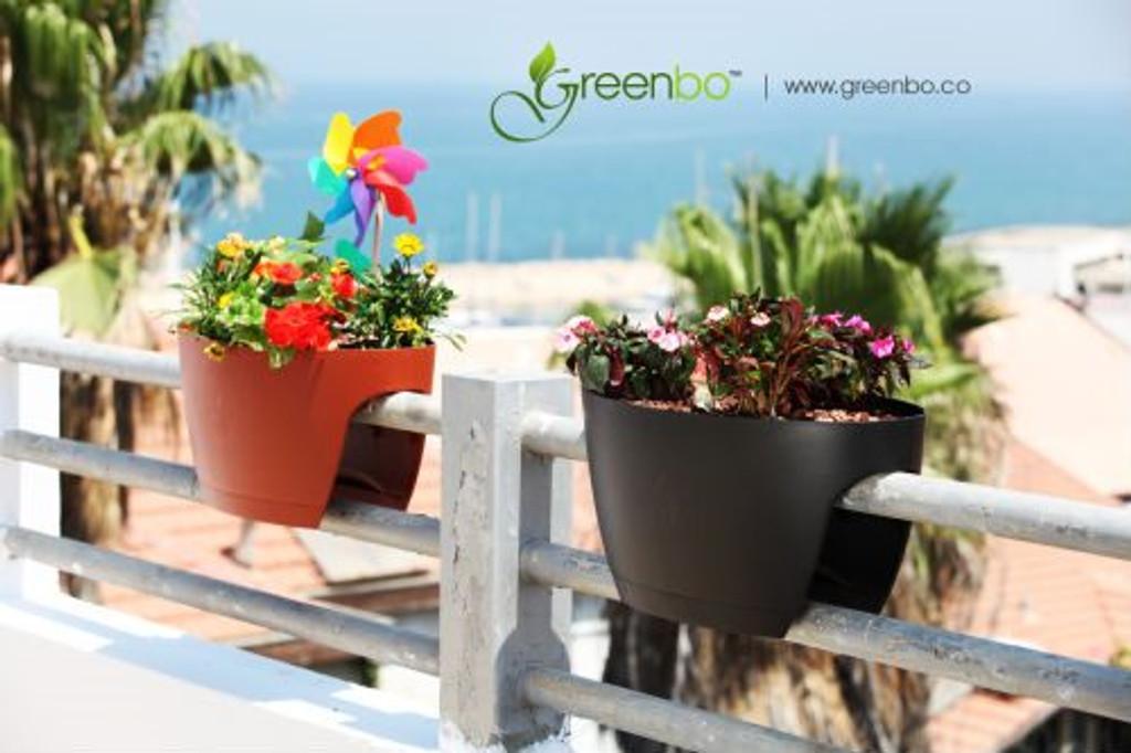 Greenbo Railing Planters