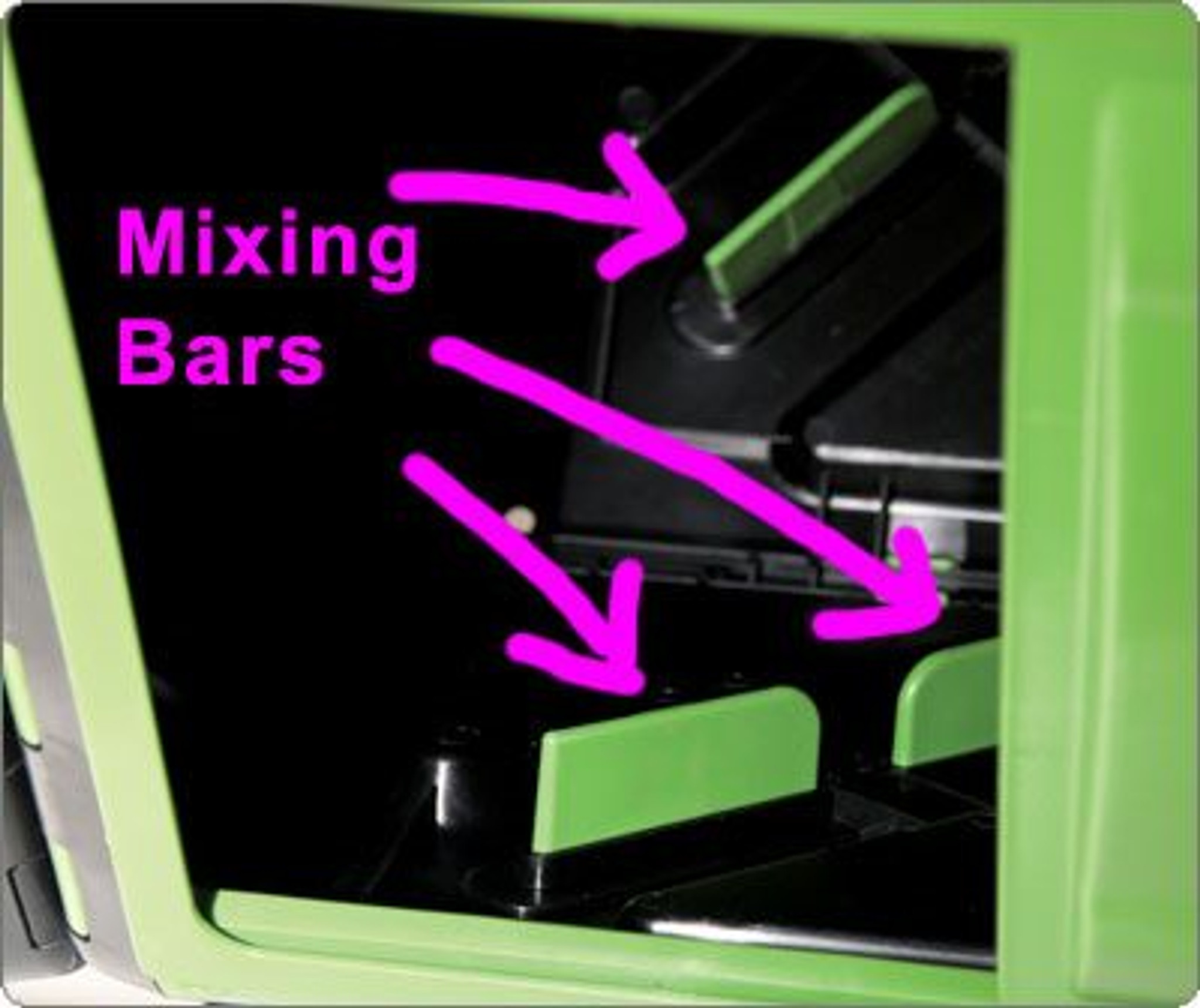 Mixing bars for fast compost