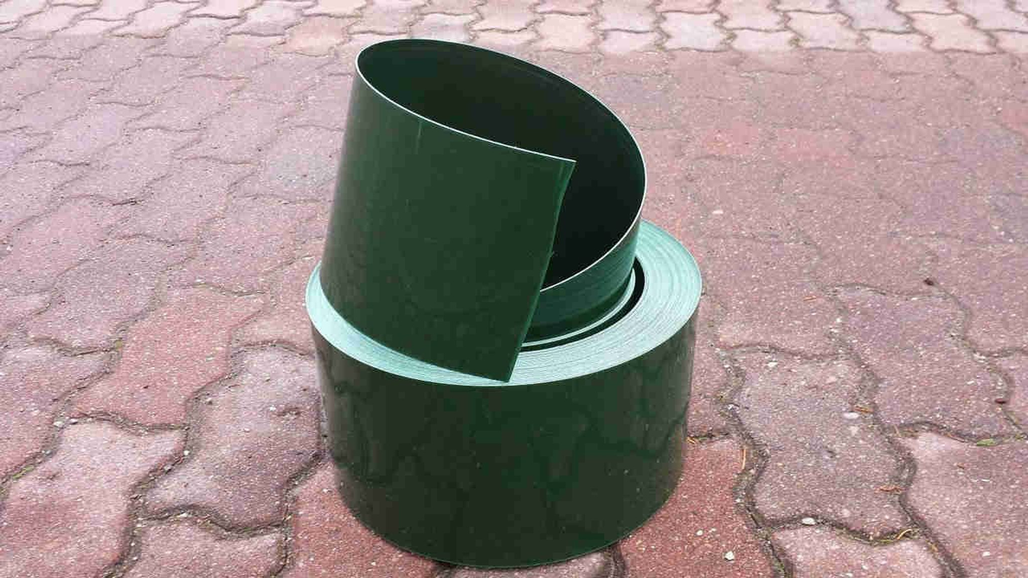 recycled plastic lawn edging