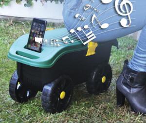 Music phone holder
