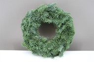 Living Christmas Wreath - Nobilis Fir (Half tied)