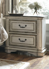 Magnolia Manor 2 Drawer Nightstand